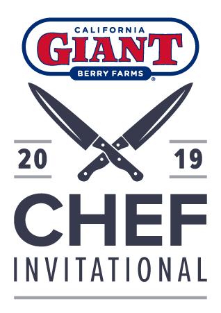 California Giant Berry Farms and 2019 Chef Invitational logos