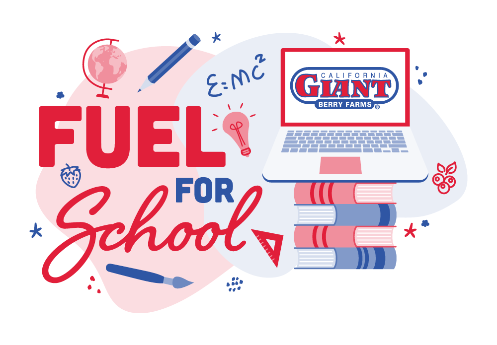 School is back in session and California Giant Berry Farms is here to help you ace the new year! Enter to win one of two $500 Visa gift cards!