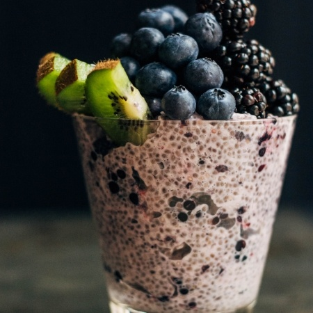 Blackberry Chia Pudding