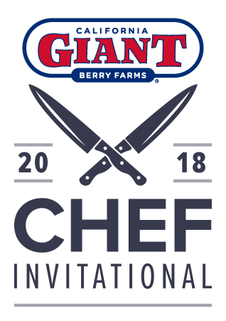 California Giant Berry Farms and 2018 Chef Invitational logos