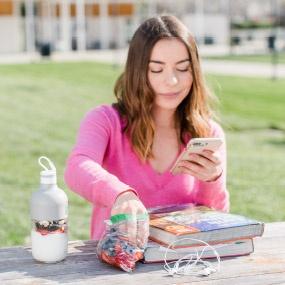 Study Snacks - Berries and Yougurt