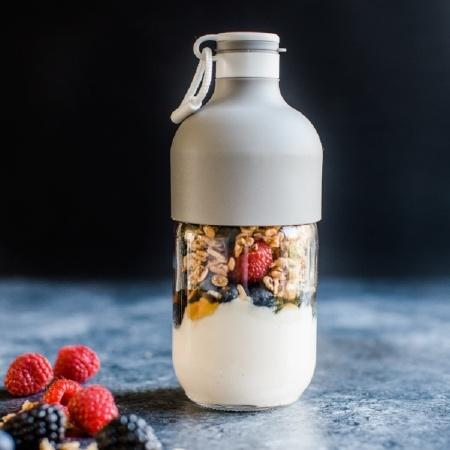 Study Snacks - Yogurt and Berries