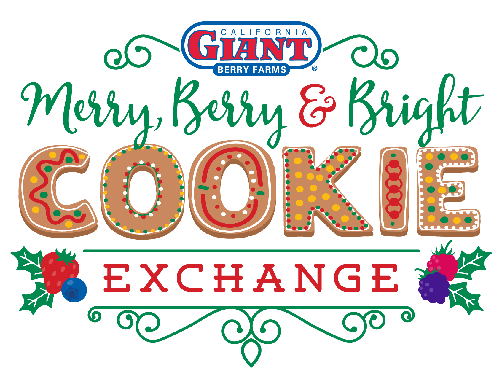 Merry, Berry and Bright Cookie Exchange