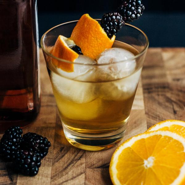 Blackberry Bourbon Cider