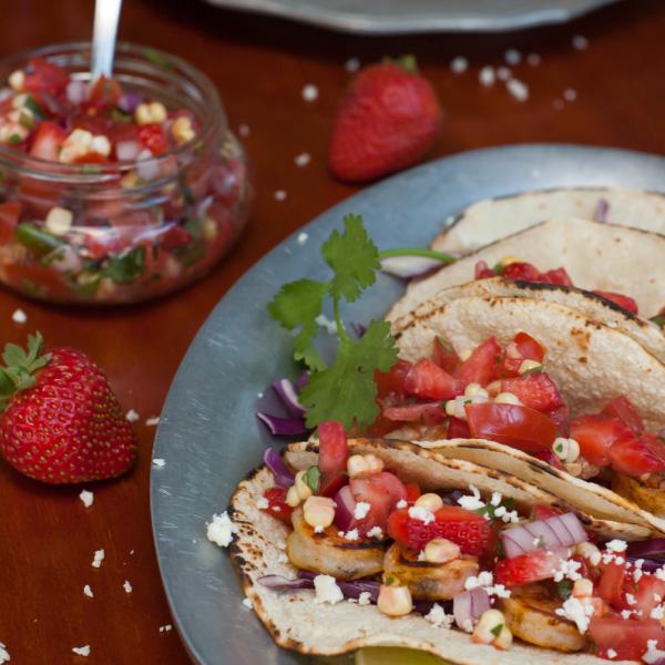 bbq-shrimp-strawberry-salsa