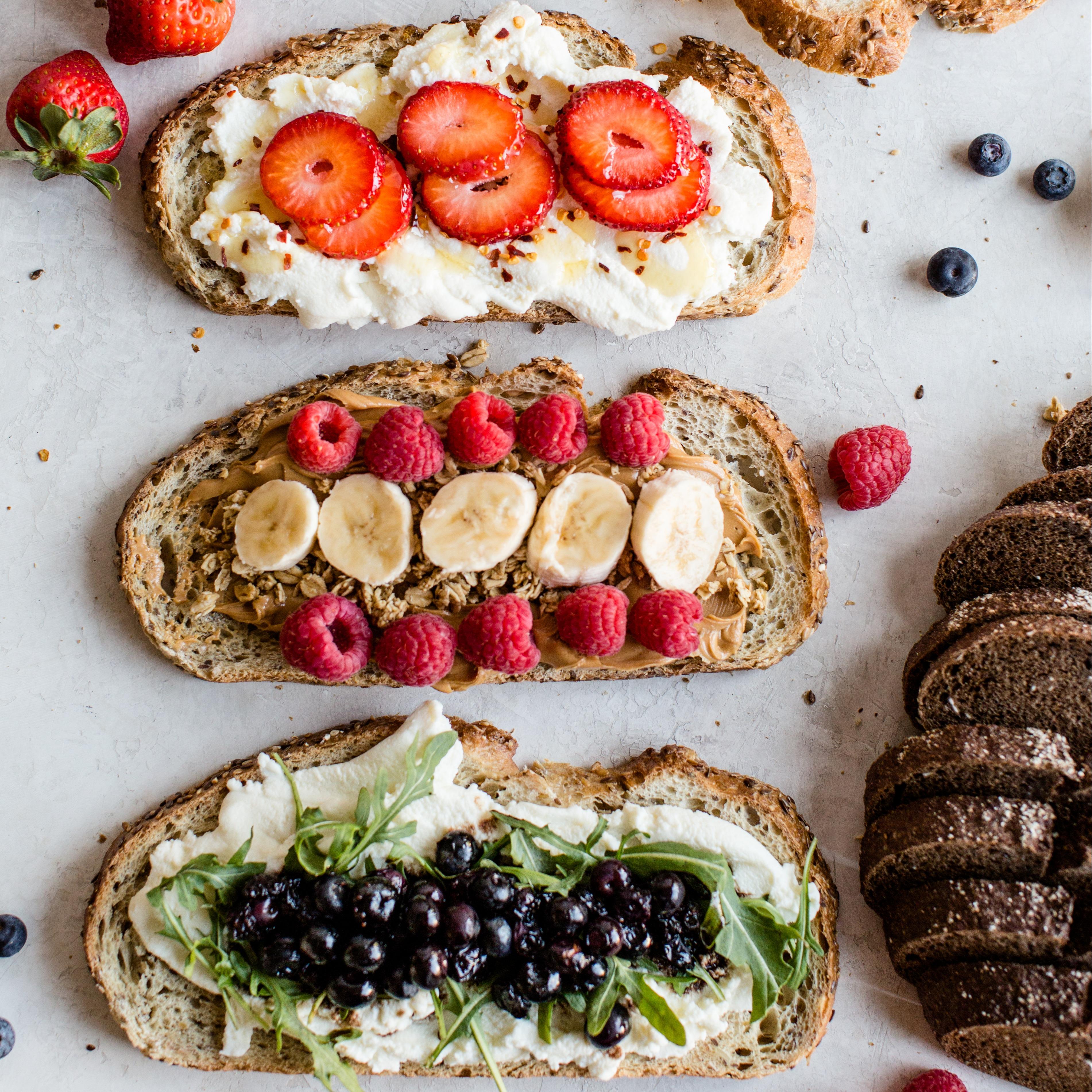 toast three ways